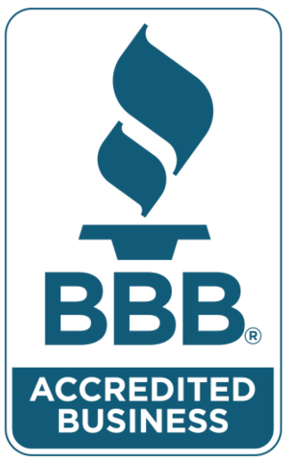 Logo Great Finishes, Inc. BBB Accredited since 2017