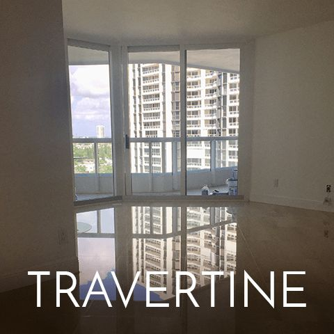 Travertine in Weston Florida - Great Finishes